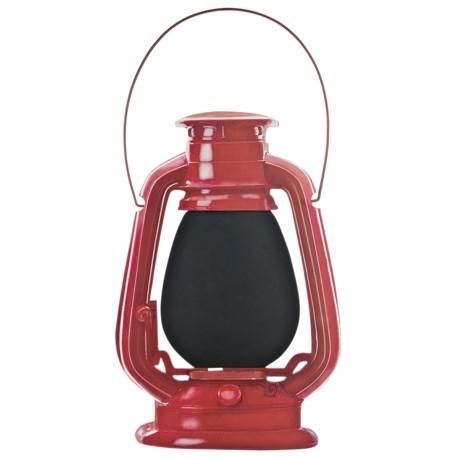Outside Inside Lantern Chalkboard in Red