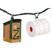 Outside Inside Outhouse Party Lights in See Photo - Closeouts