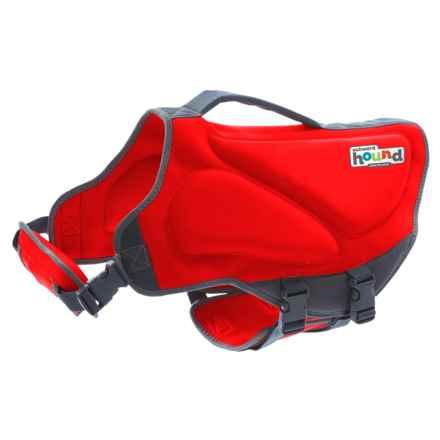 Outward Hound Dawson Swim Dog Life Jacket - Small in Red - Closeouts