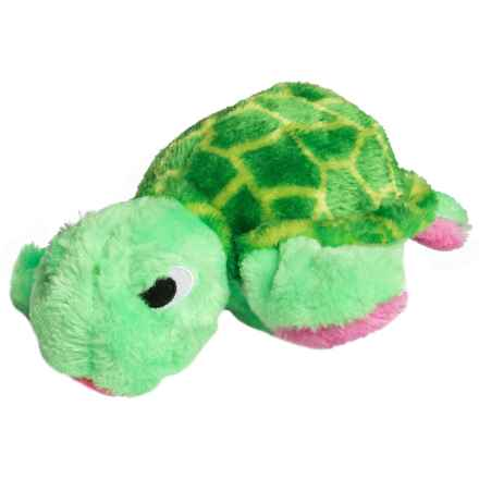 Outward Hound Egg Babies Plush Dog Toy in Turtle - Closeouts
