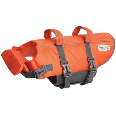 Outward Hound Granby Splash Dog Life Jacket - Medium in Orange - Closeouts