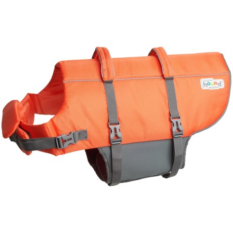 Outward Hound Granby Splash Dog Life Jacket - X-Large in Orange