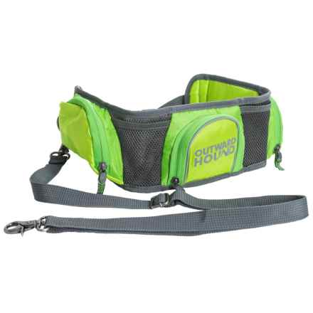 Outward Hound Hands-Free Hipster in Green - Closeouts