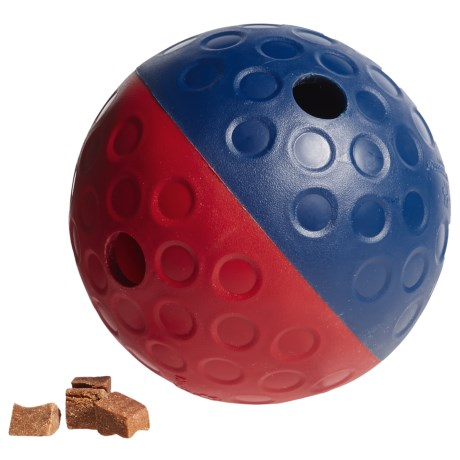 Outward Hound Nina Ottosson Treat Tumble Dog Toy - Small in Blue/Red