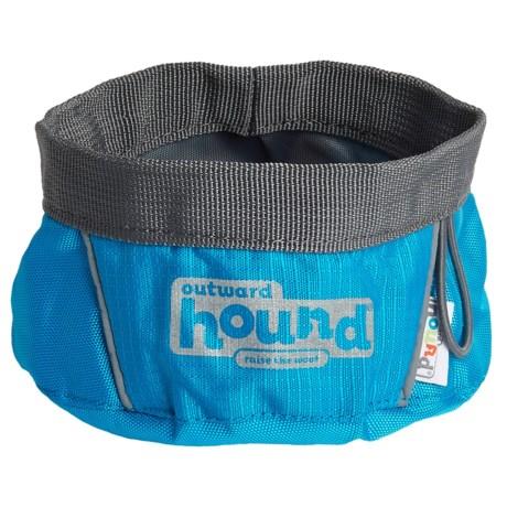 Outward Hound Port-A-Bowl Dog Bowl - Small
