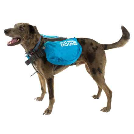 Outward Hound Quick-Release Dog Backpack - Large in Blue - Closeouts