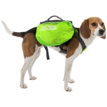 Outward Hound Quick-Release Dog Pack - Small in Green - Closeouts