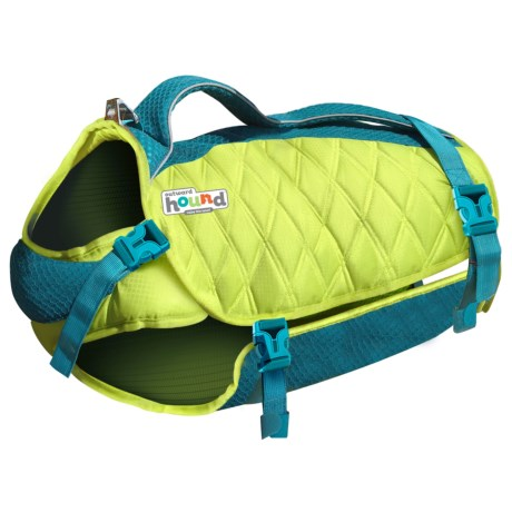 Outward Hound Standley Sport Dog Life Jacket - Extra Small in Green