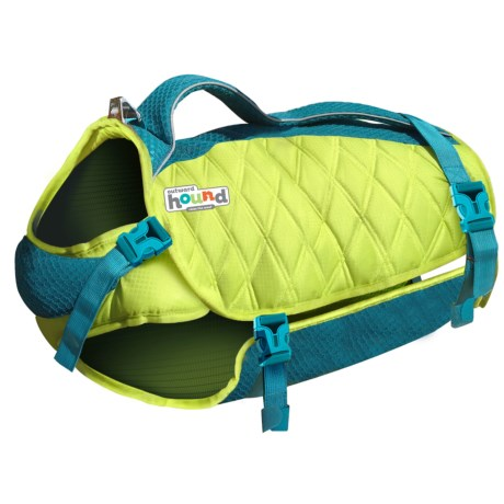 Outward Hound Standley Sport Dog Life Jacket - Small in Green