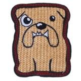 Outward Hound Tough Seamz Bulldog Dog Chew Toy - Squeaker