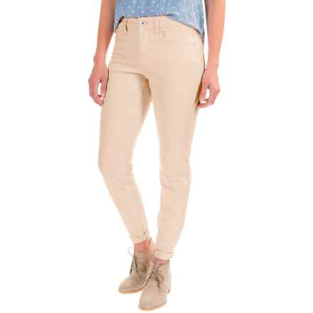 Over-Dyed Stretch Skinny Jeans (For Women) in Natural - 2nds