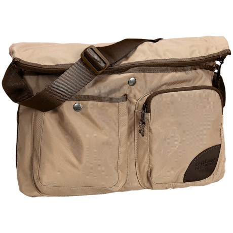 Overland Equipment Aurora Shoulder Bag (For Women) in Wheat/Coffee Bean/Wheat