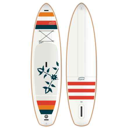Oxbow Explore Stand-Up Paddle Board - 11' in White/Red/Blue - Closeouts