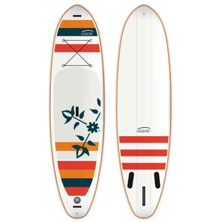 """Oxbow Play Air Stand-Up Paddle Board - 10""""6"""", Inflatable in White/Red/Blue - Closeouts"""