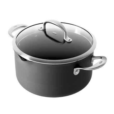 Oxo Nonstick Pro Hard-Anodized Aluminum Straining Pot with Lid - 6 qt. in See Photo - Closeouts