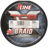 P-Line TCB Teflon®-Coated Braided Fishing Line - 20 lb., 300 yds.