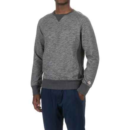 PAC Sportswear Everyday Cotton Shirt - Crew Neck, Long Sleeve (For Men) in Dark Heather Grey - Closeouts