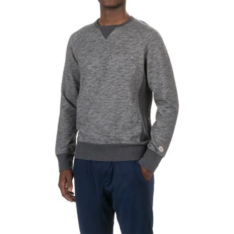PAC Sportswear Everyday Cotton Shirt - Crew Neck, Long Sleeve (For Men) in Dark Heather Grey