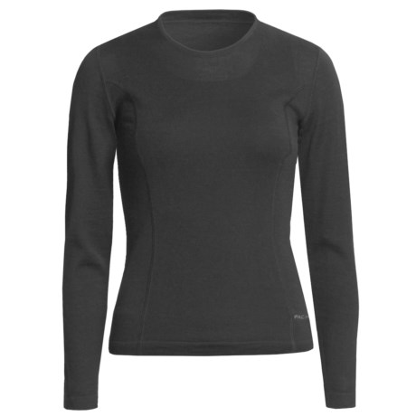 Pacadudz Alpaca Jersey Sweater (For Women) in Black