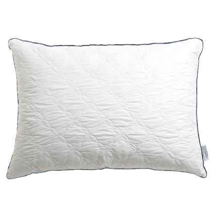 Pacific Coast Feather Flourish Quilted Feather Pillow - Super Standard/Jumbo in White - Closeouts