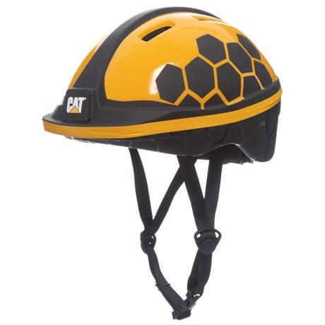 Pacific Cycle CAT Logo Bike Helmet (For Kids) in See Photo