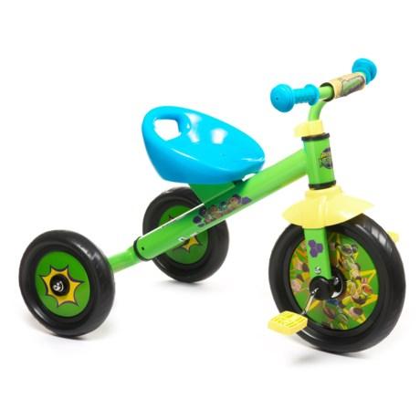 "Pacific Cycle Teenage Mutant Ninja Turtles Tricycle - 10"" (For Little Kids) in See Photo"