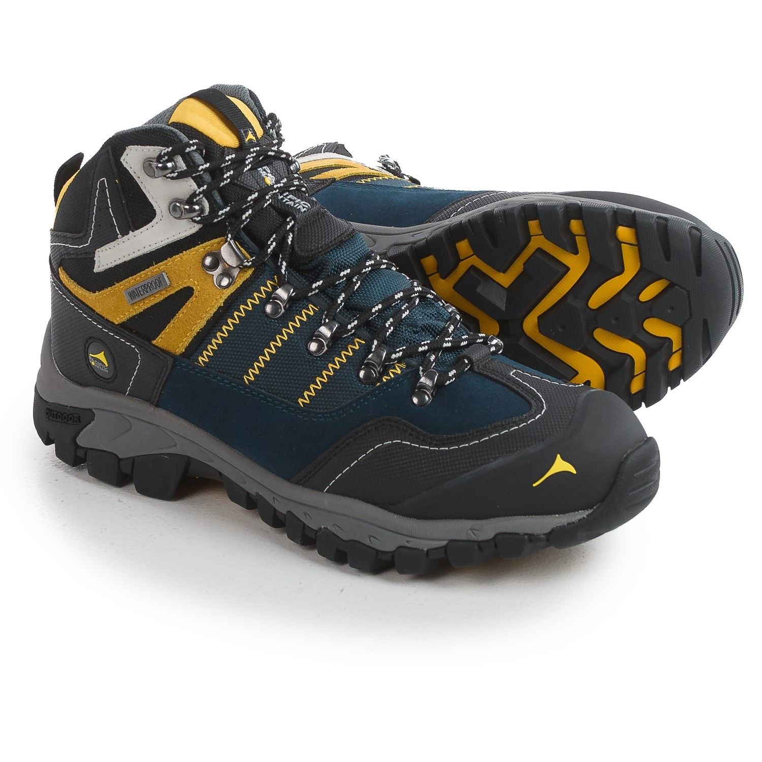 d157cafd3f6 Pacific Mountain Ascend Mid Hiking Boots - Waterproof (For Men)