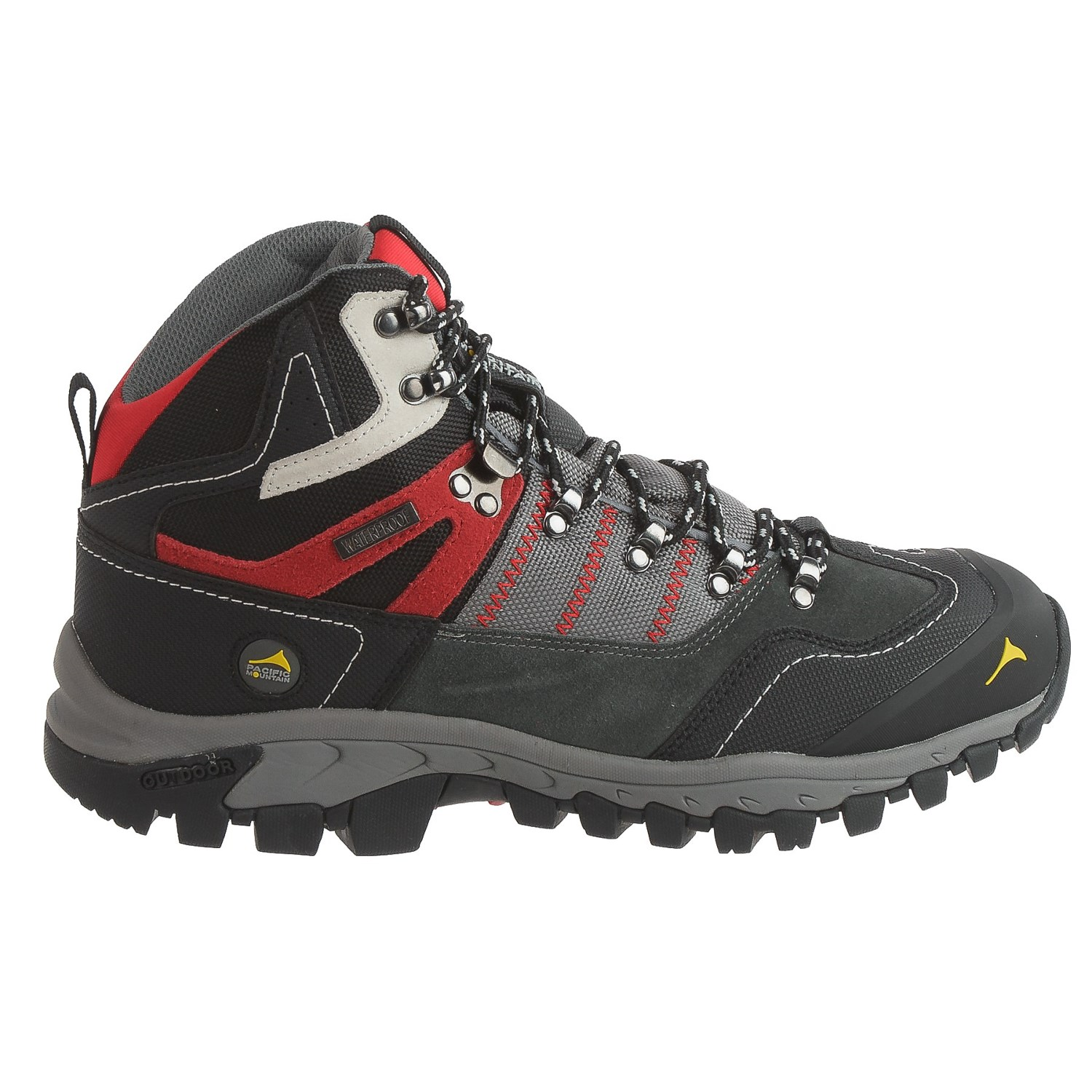 d0d54dbe934 Pacific Mountain Ascend Mid Hiking Boots - Waterproof (For Men)