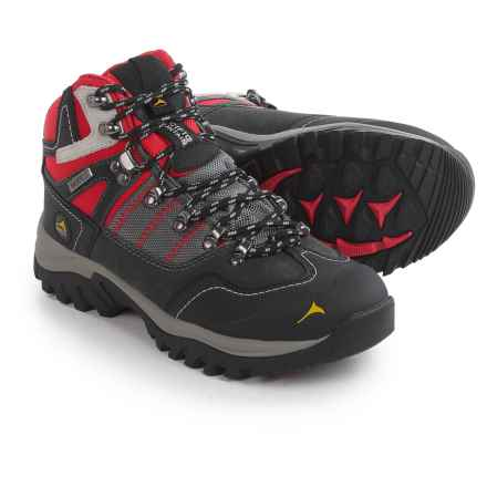 Pacific Mountain Ascend Mid Hiking Boots - Waterproof (For Women) in Gunmetal/Lava/Black - Closeouts