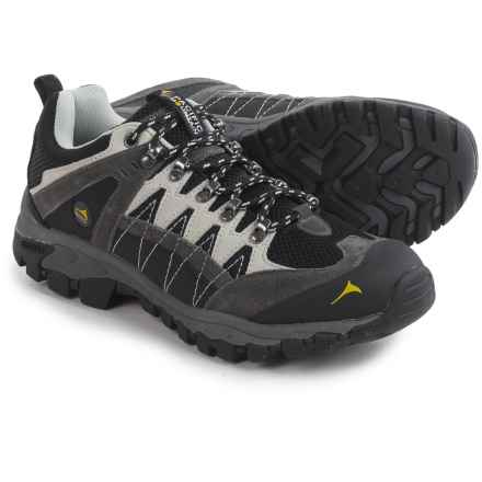 Pacific Mountain Crater Low Hiking Shoes (For Men) in Asphalt/Nimbus/Freesia - Closeouts