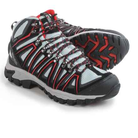 Pacific Mountain Crest Hiking Boots - Waterproof (For Men) in Gunmetal/Nimbus/Lava - Closeouts