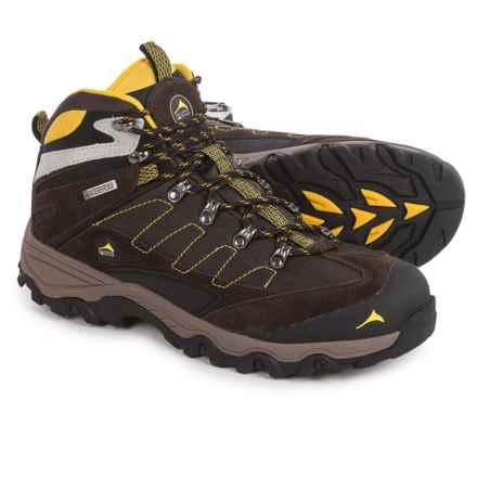 Pacific Mountain Edge Mid Hiking Boots - Waterproof (For Men) in Delicioso/Black/Freesia - Closeouts