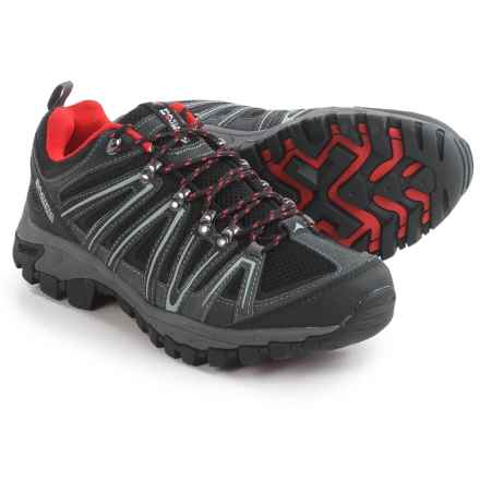 Pacific Mountain Ravine Low Hiking Shoes (For Men) in Asphalt/Black/Lava - Closeouts