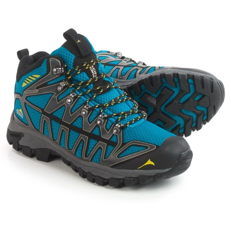 Pacific Mountain Ridge Hiking Boots - Waterproof (For Men) in Asphalt/Sapphire/Sulfur