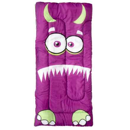 Pacific Play Tents Kids Izzy Monster Sleeping Bag in Purple - Closeouts