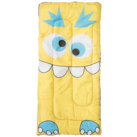 Pacific Play Tents Kids Sparky Monster Sleeping Bag in Yellow - Closeouts
