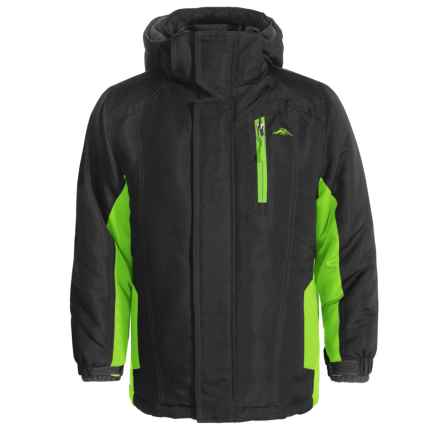 Pacific Trail 4-in-1 Systems Jacket - Reversible Liner (For Big Boys) in Black - Closeouts
