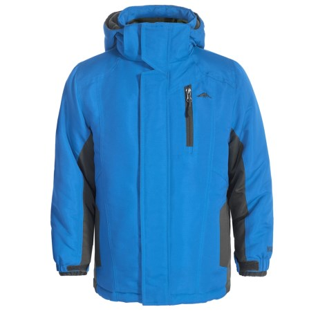 Pacific Trail 4-in-1 Systems Jacket - Reversible Liner Jacket (For Little Kids) in Blue