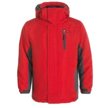 Pacific Trail 4-in-1 Systems Jacket - Reversible Liner Jacket (For Little Kids) in Red - Closeouts