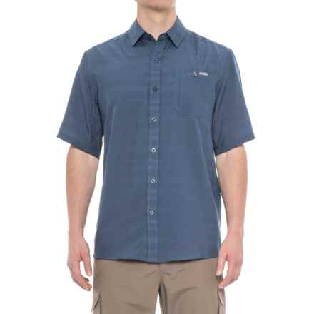 Pacific Trail Air-Permeable Shirt - Short Sleeve (For Men) in Ensign Blue - Closeouts