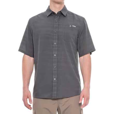 Pacific Trail Air-Permeable Shirt - Short Sleeve (For Men) in Flint - Closeouts
