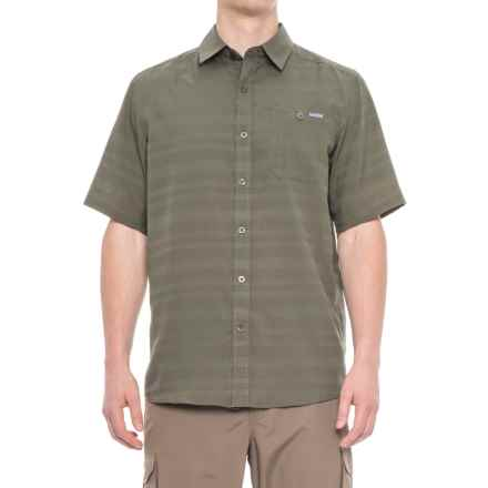 Pacific Trail Air-Permeable Shirt - Short Sleeve (For Men) in Mountain Sage - Closeouts