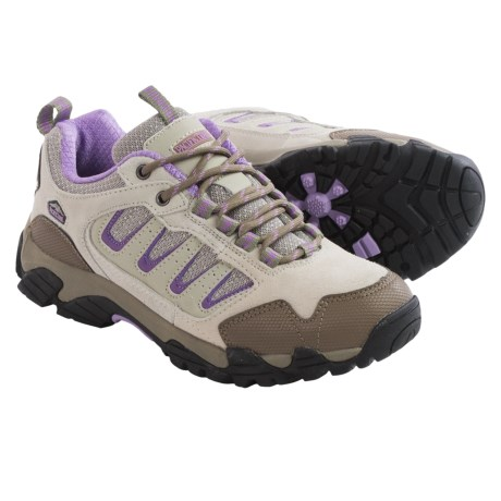 Pacific Trail Alta Hiking Shoes (For Women) in Grey/Mauve