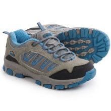 Pacific Trail Alta Junior Hiking Shoes (For Little and Big Kids) in Grey/Smoke Blue - Closeouts