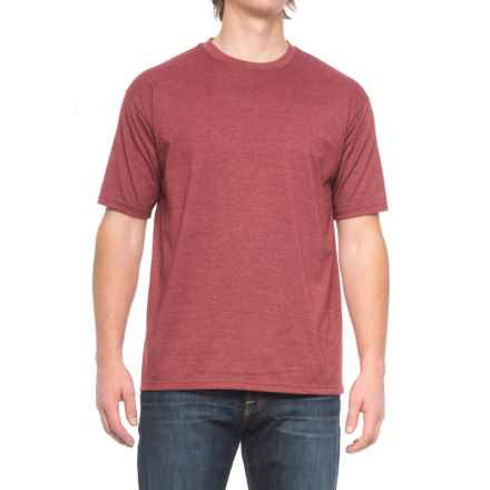 Pacific Trail Basic Heather T-Shirt - Short Sleeve (For Men) in Biking Red Heather - Closeouts