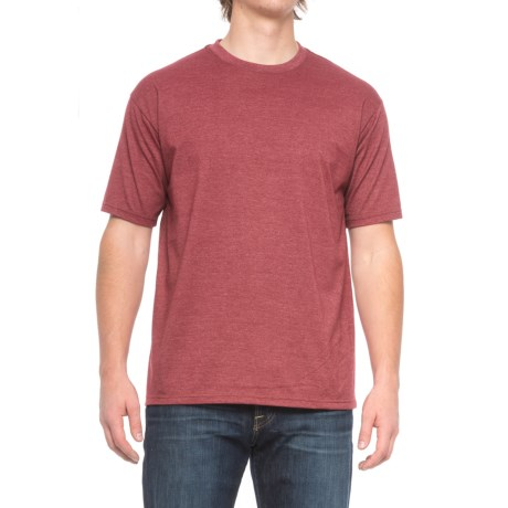 Pacific Trail Basic Heather T-Shirt - Short Sleeve (For Men) in Biking Red Heather