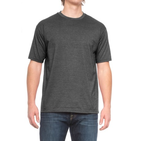 Pacific Trail Basic Heather T-Shirt - Short Sleeve (For Men) in Black Heather