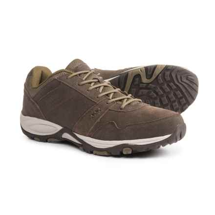 Pacific Trail Basin Hiking Shoes - Suede (For Men) in Cub/Pumice/Stone - Closeouts