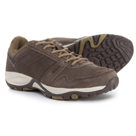 Pacific Trail Basin Hiking Shoes - Suede (For Women) in Brown Olive - 24a1e542051