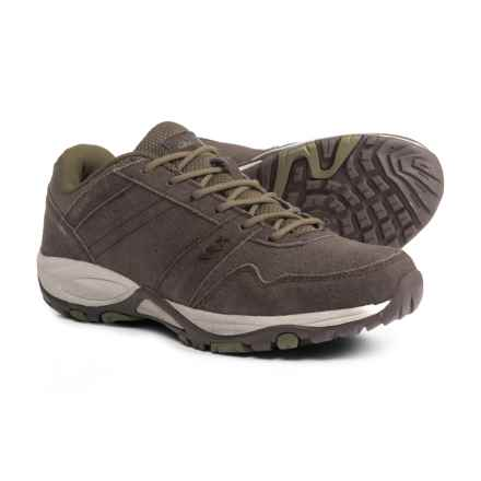 Pacific Trail Basin Hiking Shoes - Suede (For Women) in Cub Stone - Closeouts